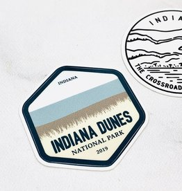 Albion Merchantile Indiana Dunes National Park Sticker