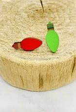 Unpossible Cuts Holiday Lasercut Wood Earrings