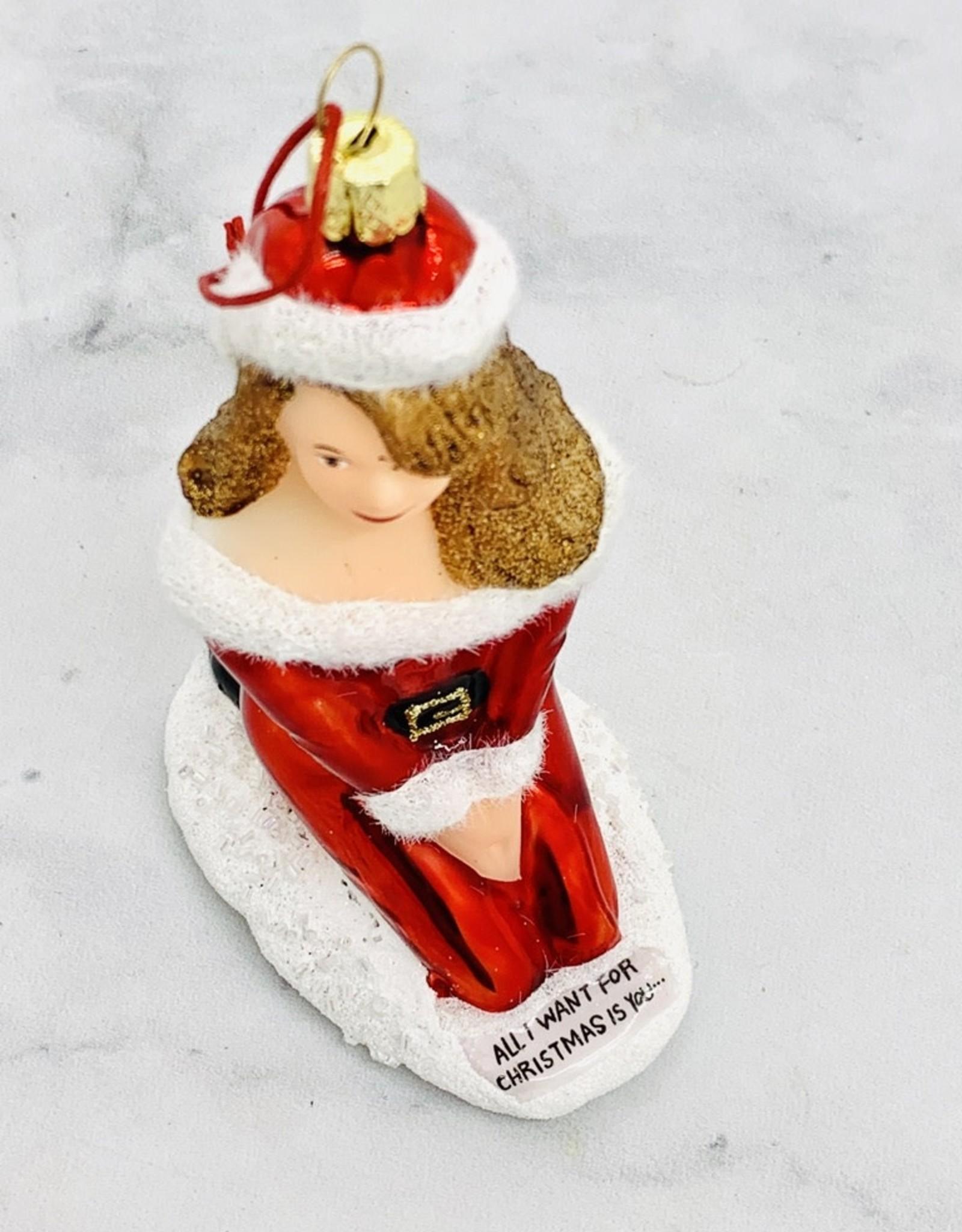 Mariah Carey Ornament