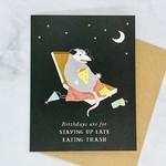 Birthday Possum Card