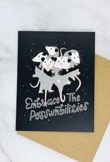 Party of One Possumbilties Card
