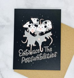 Party of One Possumbilties Card
