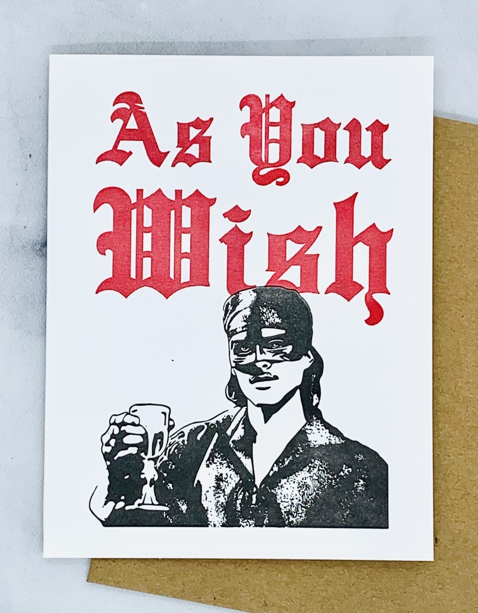 As You Wish Card