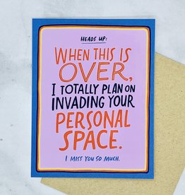 emily mcdowell Personal Space Card