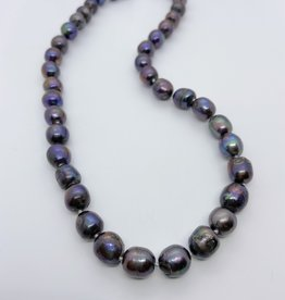 """MMA Freshwater Pearl Necklace, 18"""""""