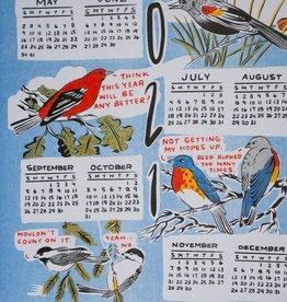 "2021 Stay Home Club Calendar 11""x17"" Print"