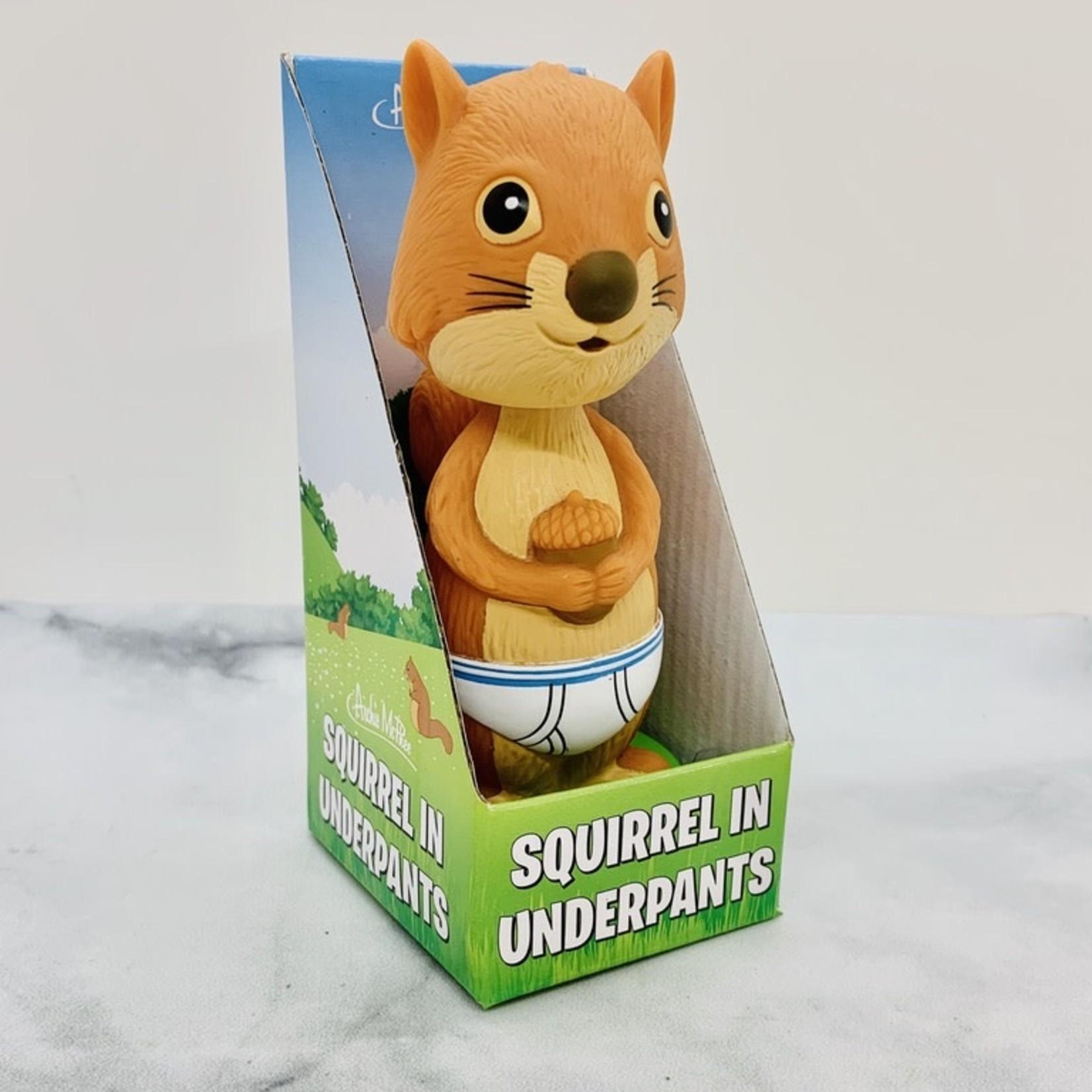 Squirrel Underpants Nodder