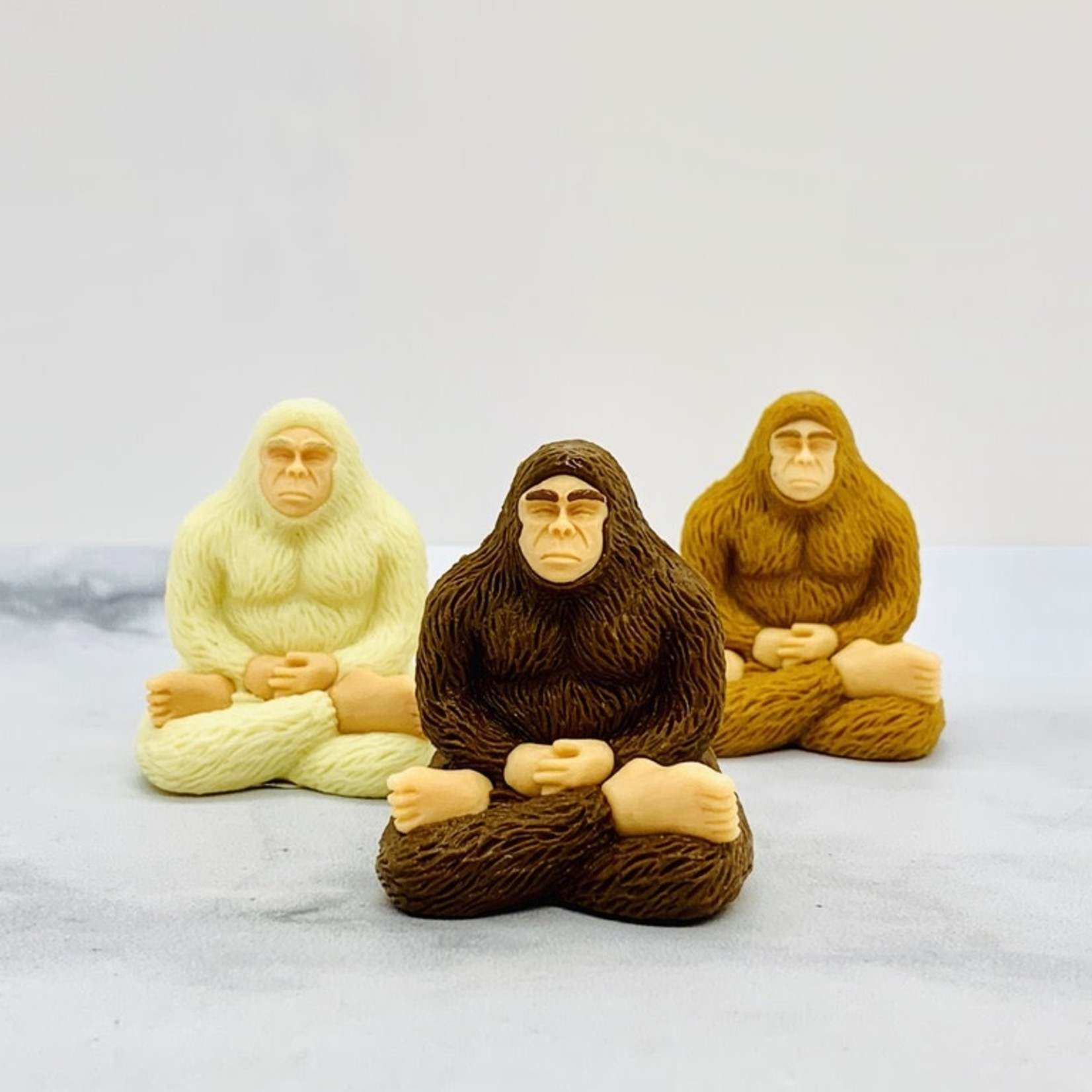 Meditating Bigfoot