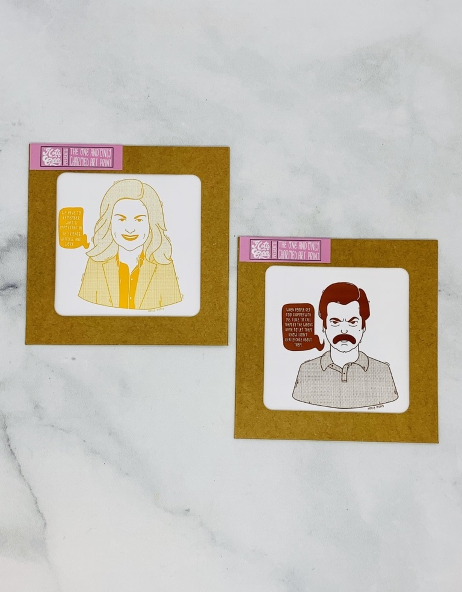 Parks and Rec Print