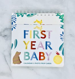 First Year Baby Calendar and Photo Props