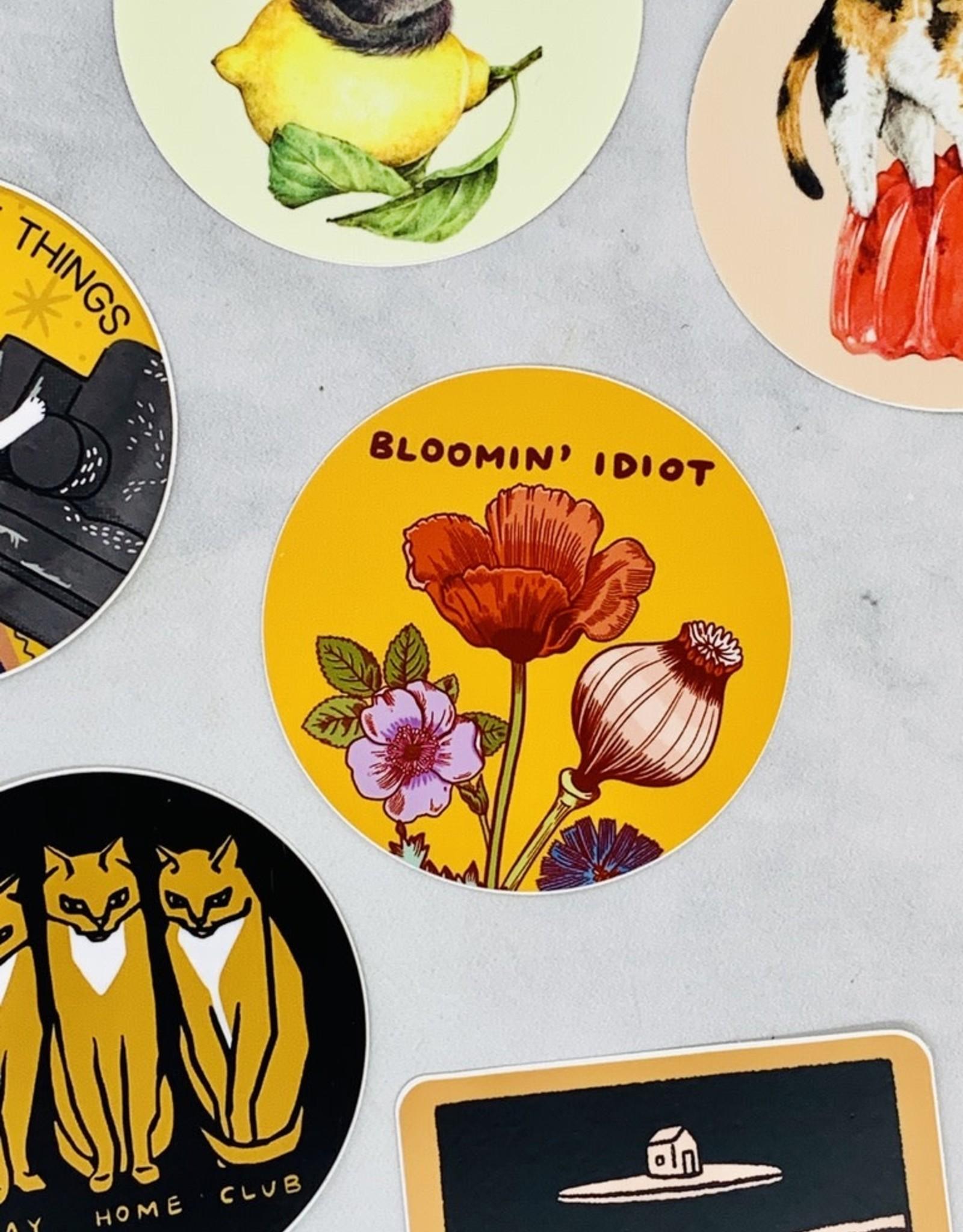 Bloomin' Idiot Sticker