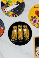 3 Cats Sticker