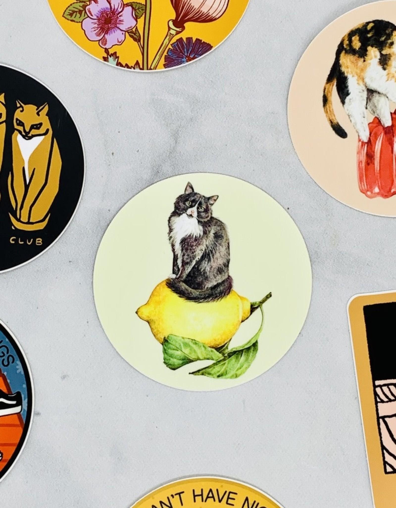 Lemon Cat Sticker