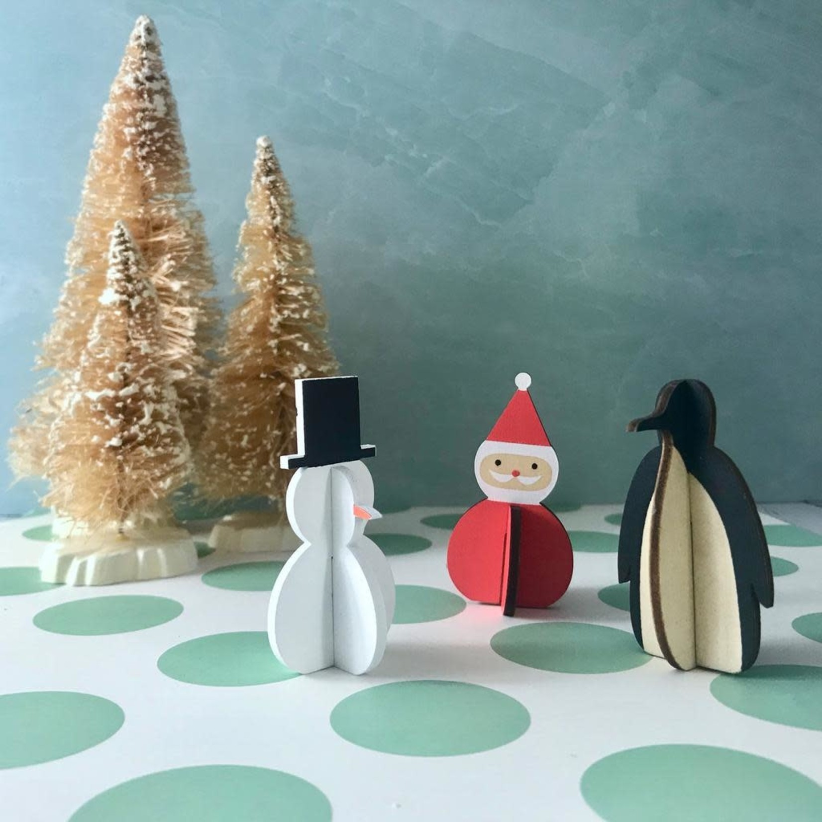 Holiday Wooden Figure