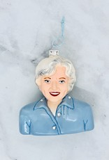 Betty White Bust Ornament