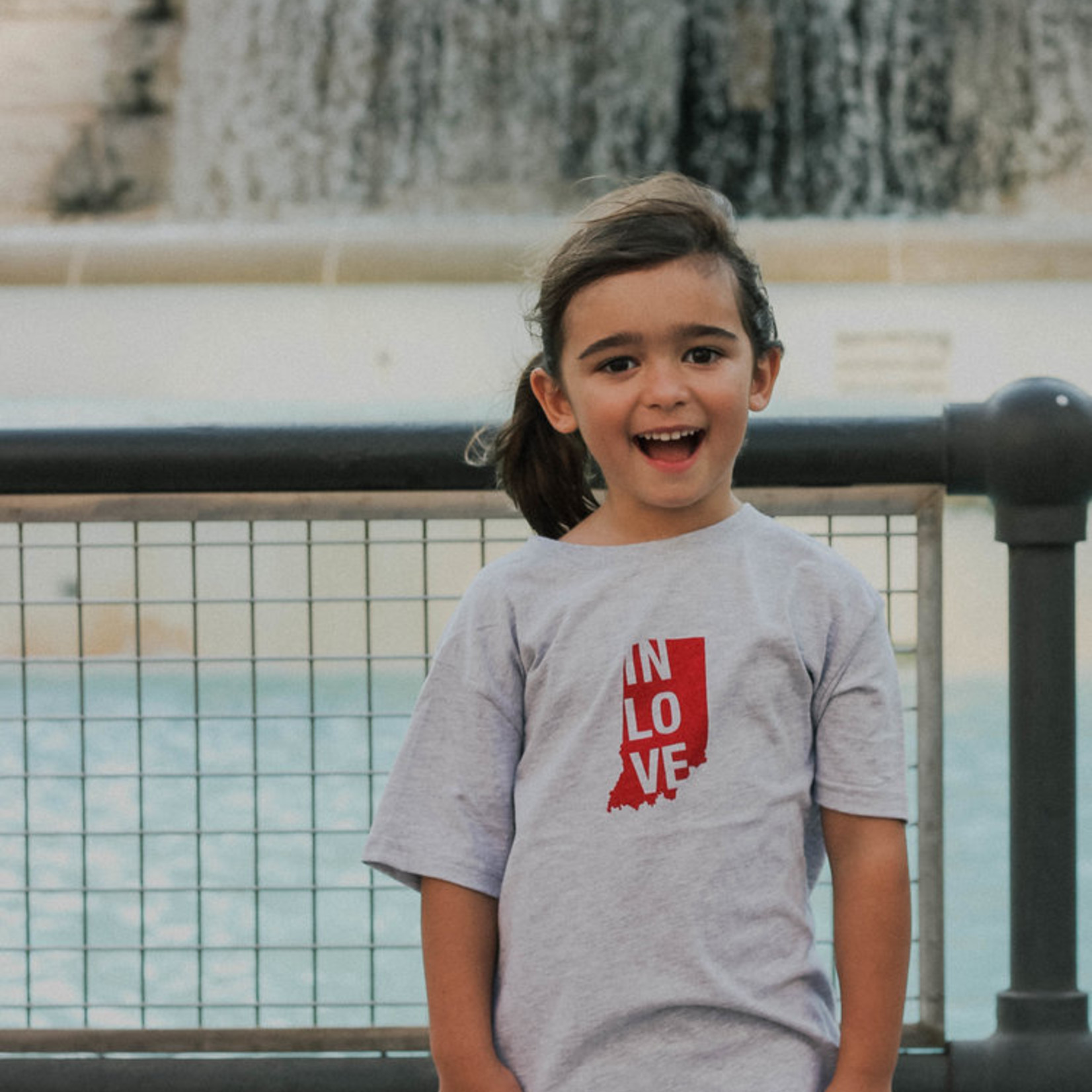 IN Love Toddler Tee