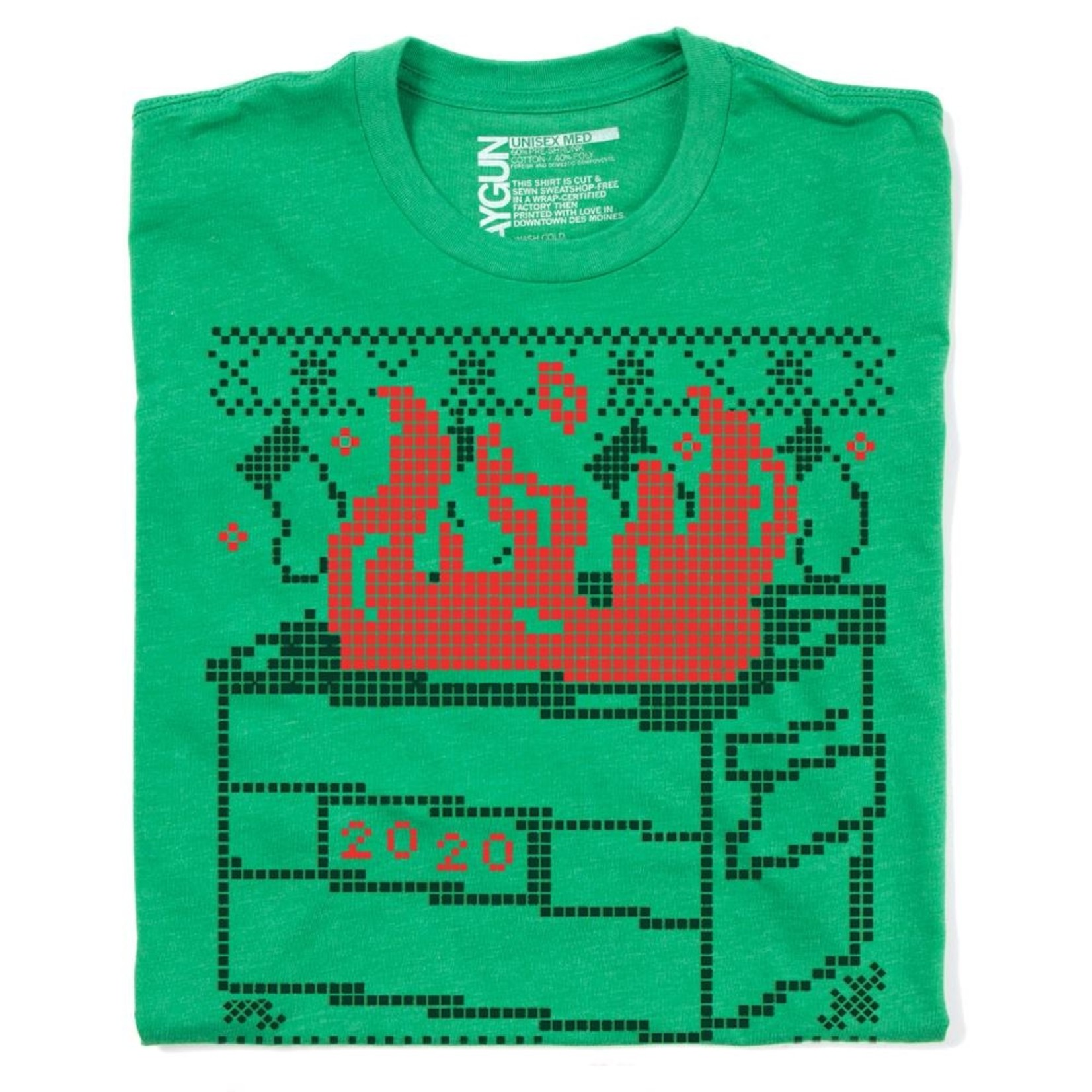 Warm Wishes 2020 Dumpster Fire Unisex Tee
