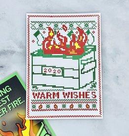 Warm Wishes 2020 Card