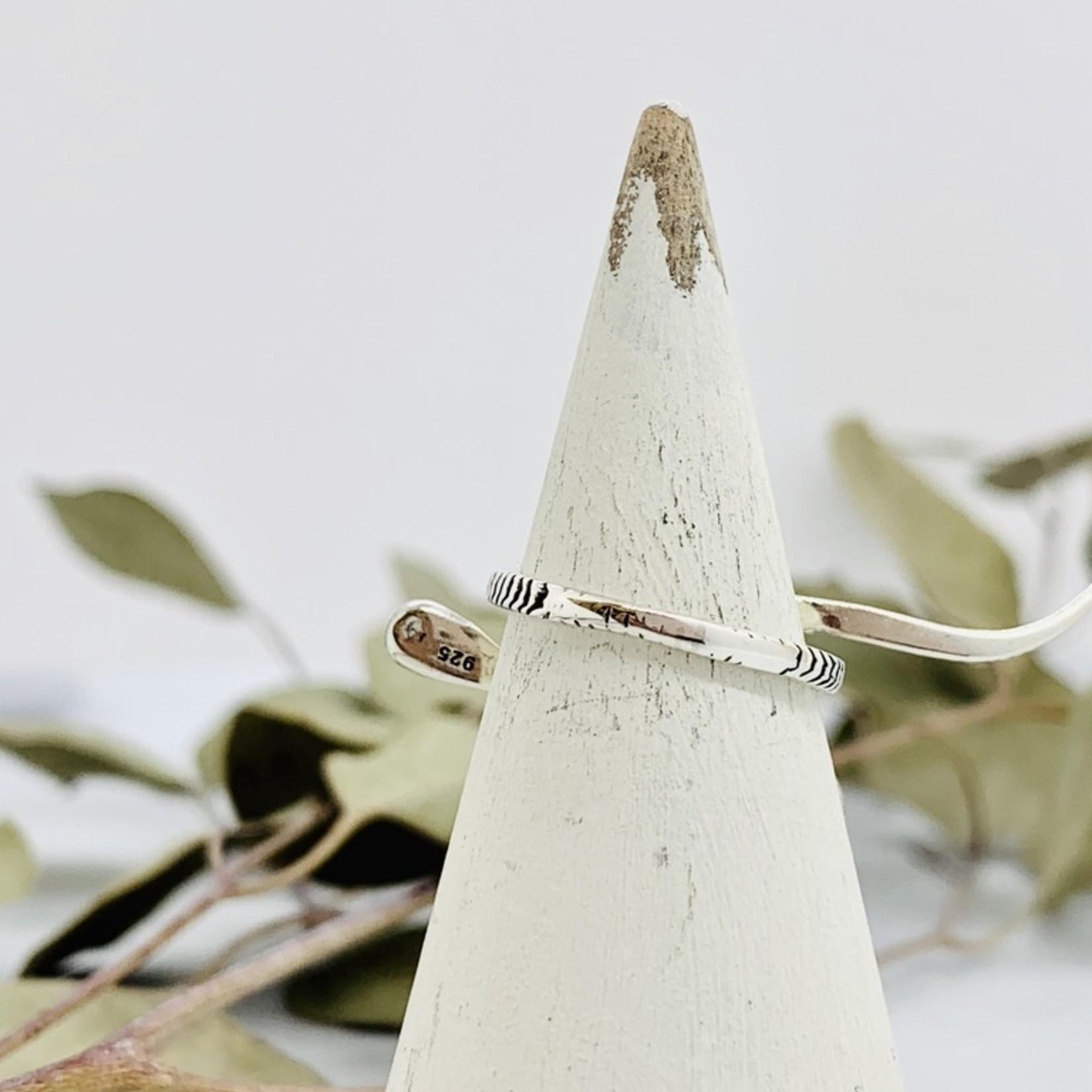 Sterling Silver Slithering Snake Ring