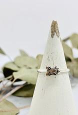 Silver Tiny Fly Ring