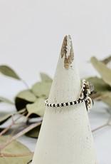Double Looping Labradorite Ring