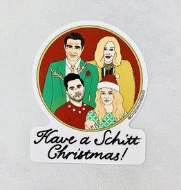 Have A Schitt Christmas Sticker