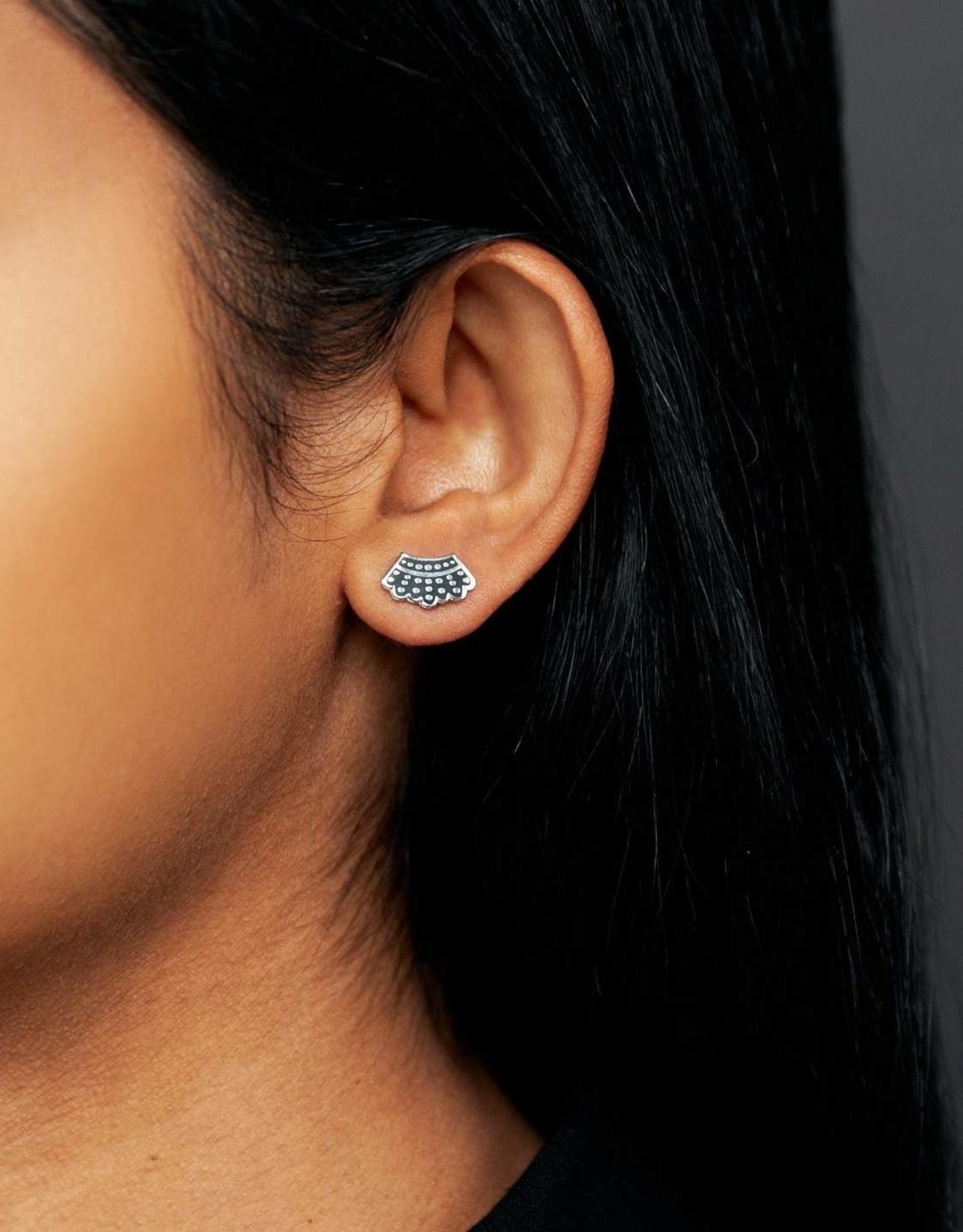 Dissent Collar Earrings