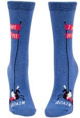 I Have to Pee Again Women's Crew Socks