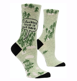 Fucking Love It (Woods) Women's Crew Socks