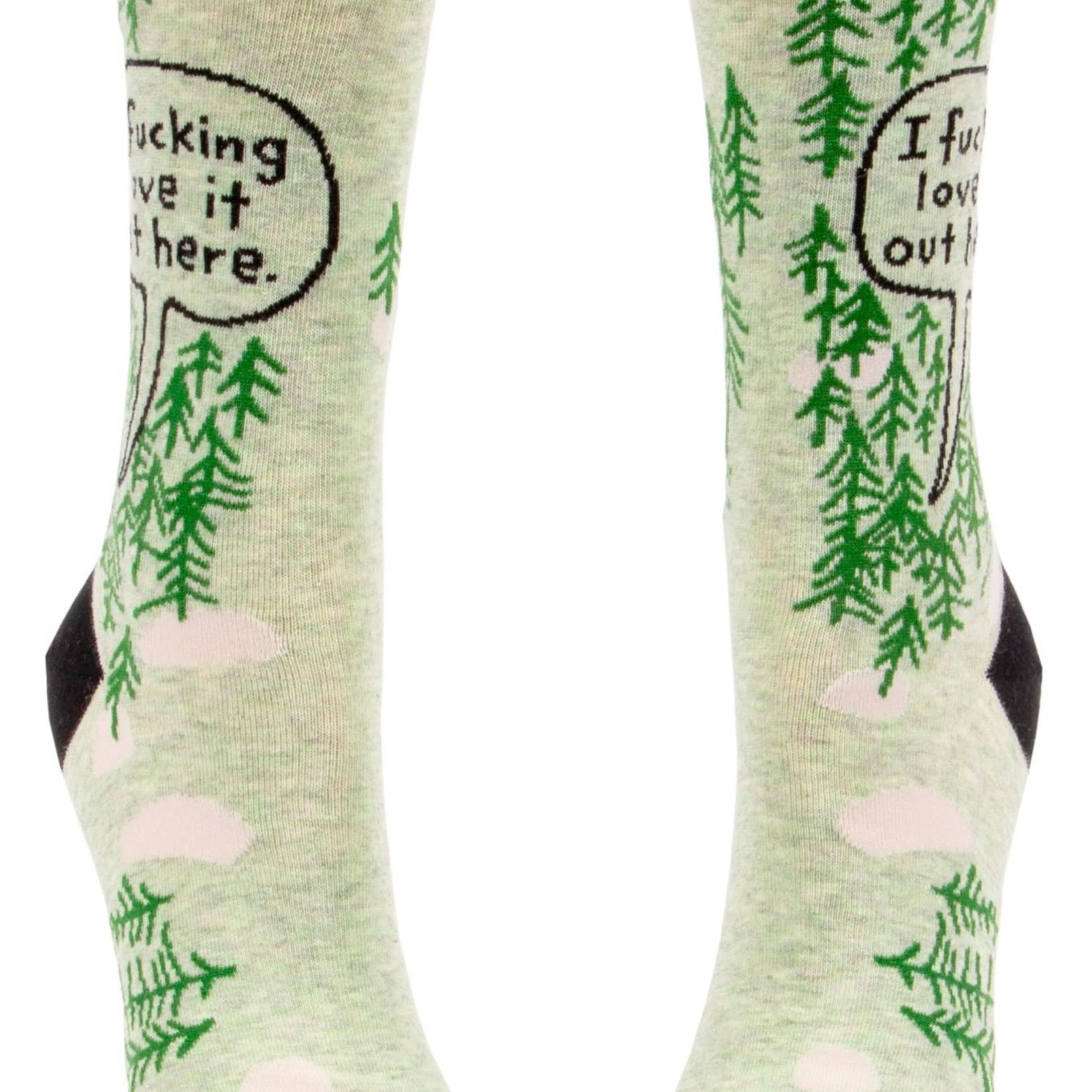 Fucking Love It (Woods) Women's Crew Socks