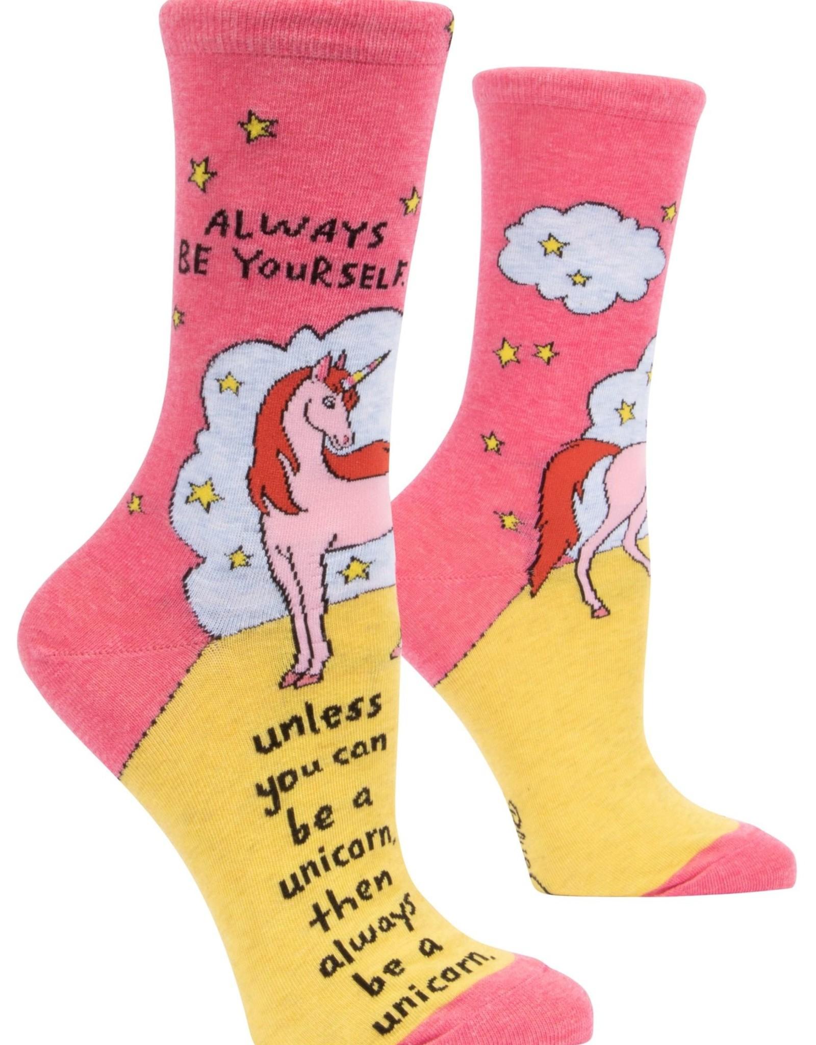 Always Be A Unicorn Women's Crew Sock