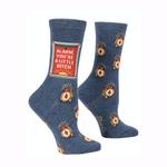 Alarm Bitch Women's Crew Sock