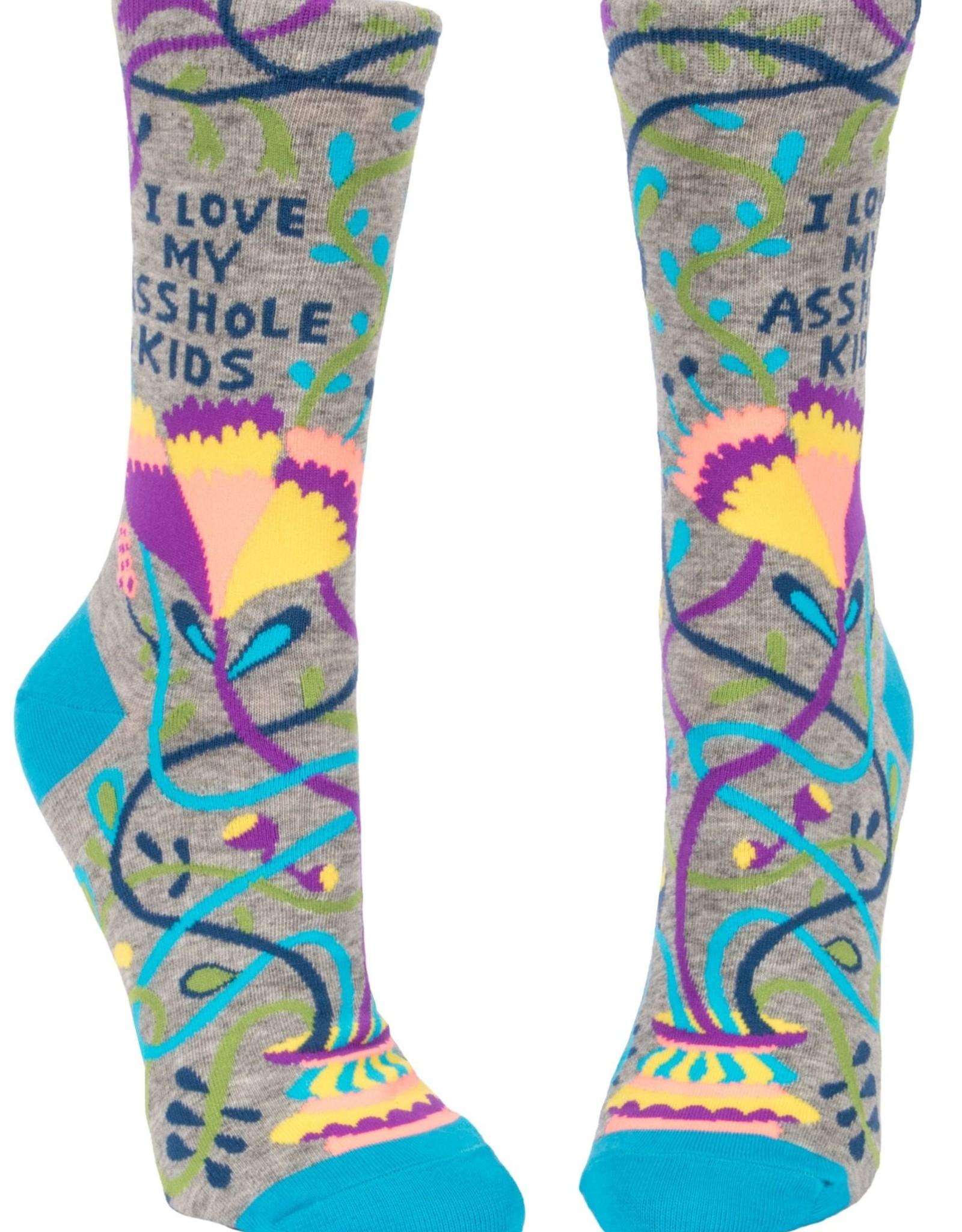 Love My Asshole Kids Women's Crew Socks