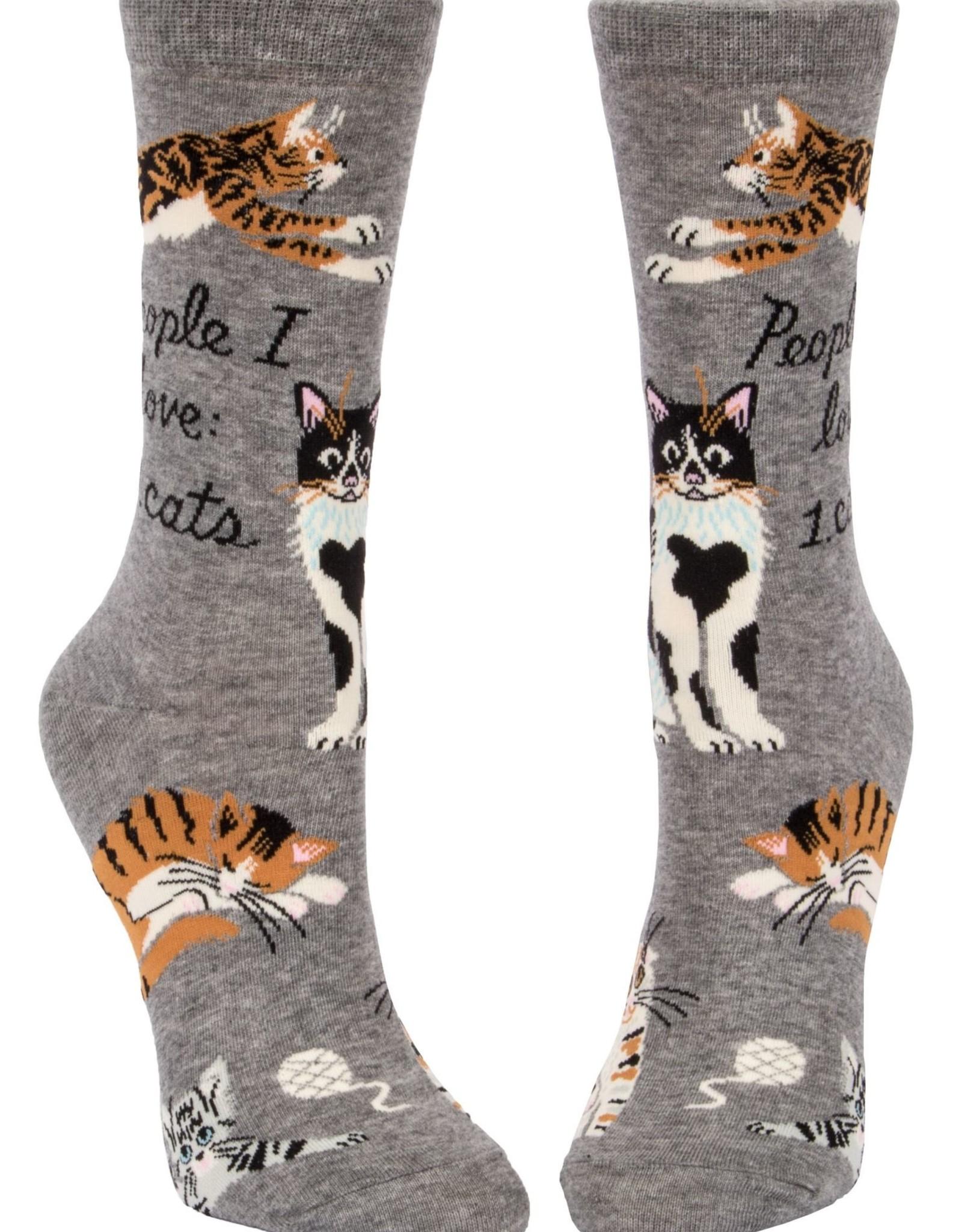 People I Love: CATS Women's Crew Socks