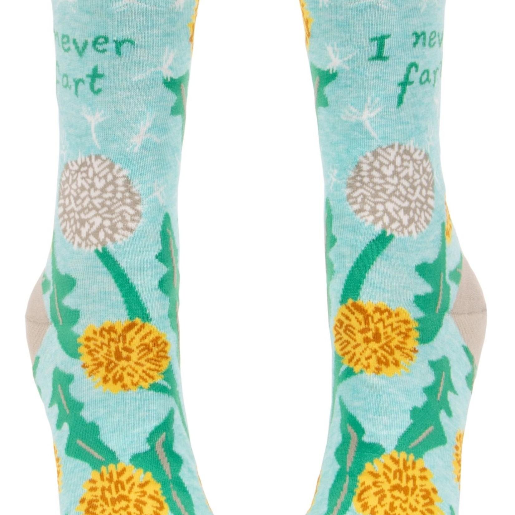 I Never Fart Women's Crew Socks
