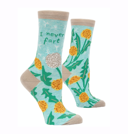 I Never Fart Women's Crew Socks