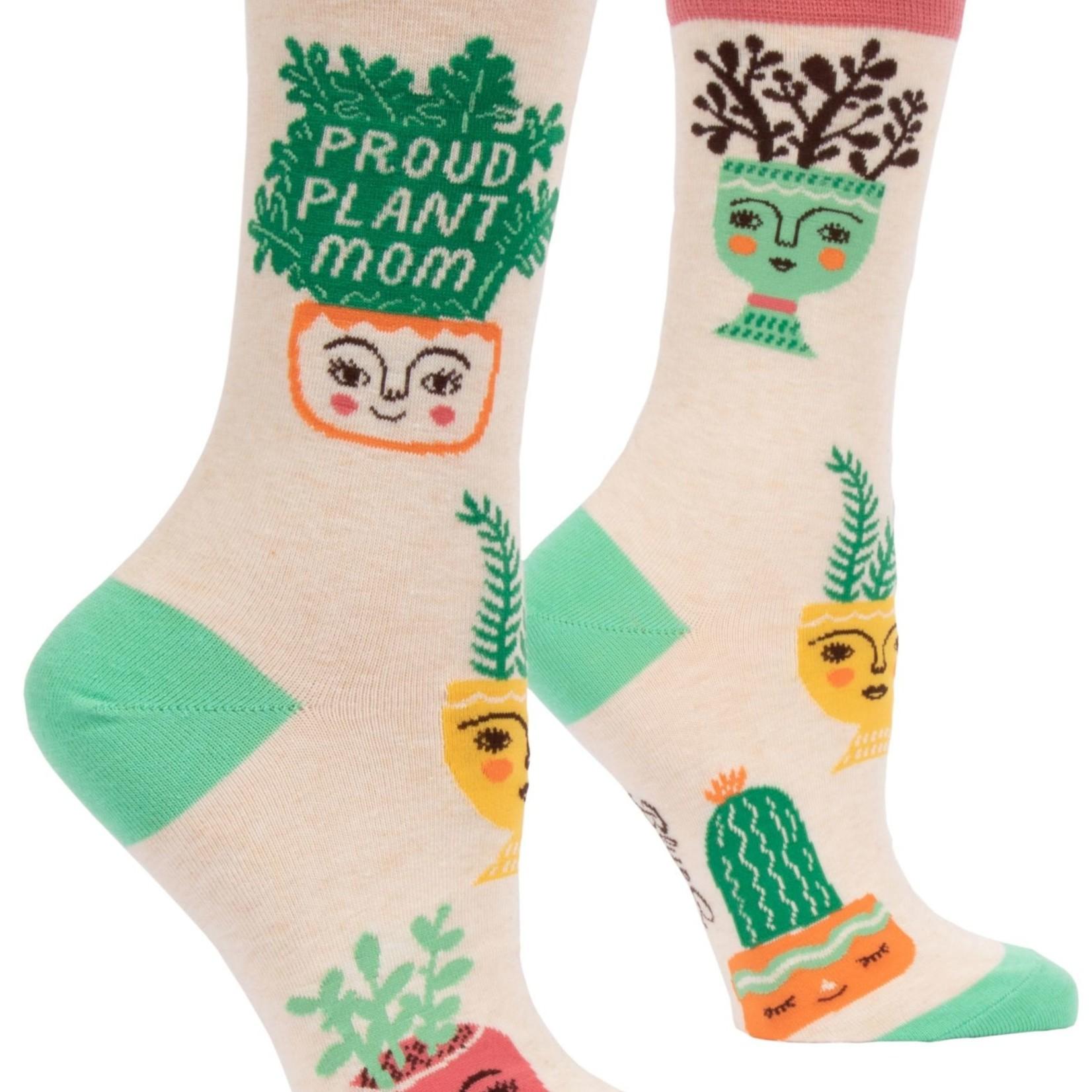 Proud Plant Mom Women's Crew Socks