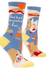 She Had Traveled Far Women's Crew Socks