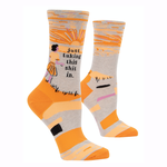 Taking Shit In Women's Crew Socks