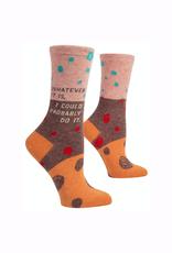 Whatever It Is Women's Crew Socks