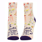 I Identify As Me Women's Ankle Socks