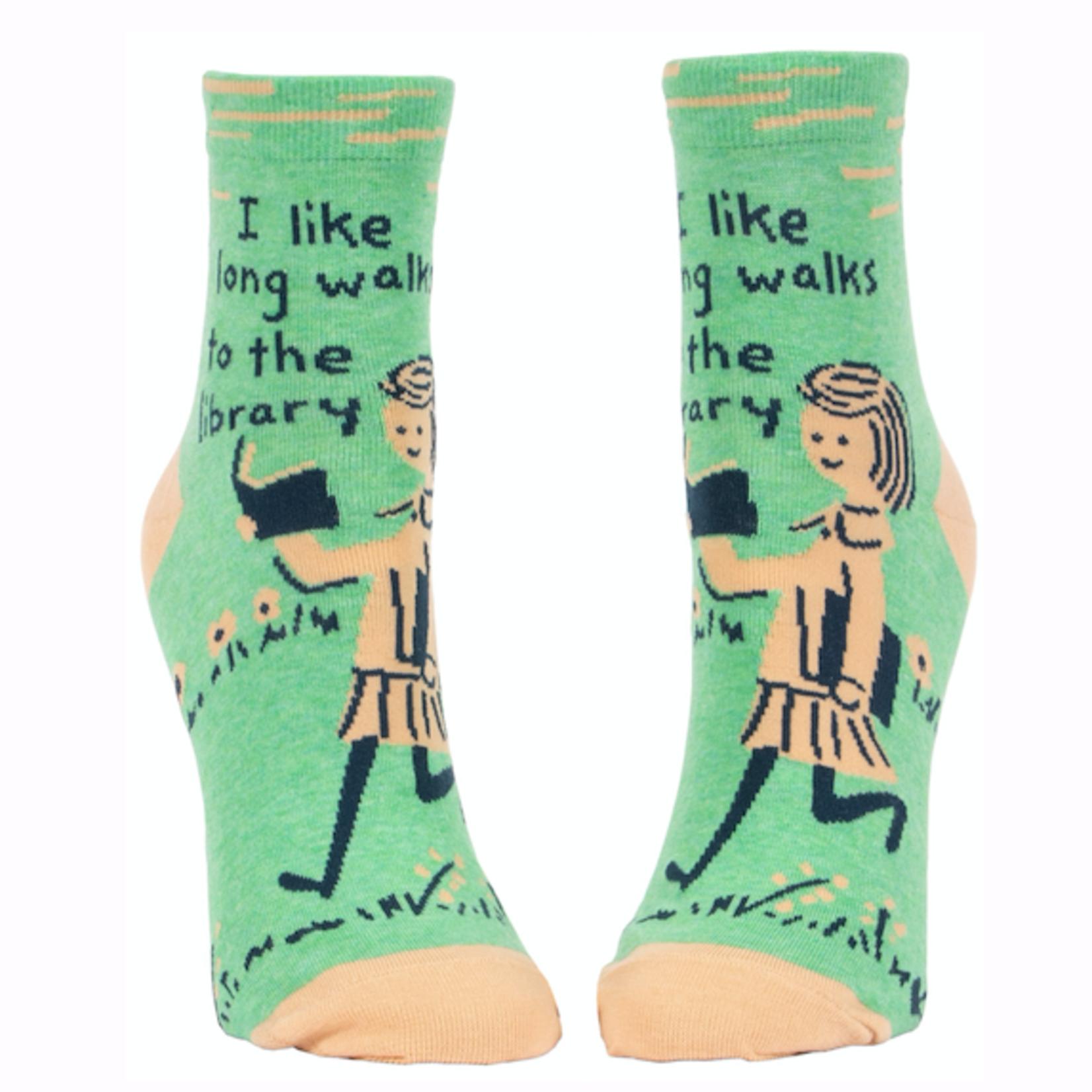 Long Walks Library Women's Ankle  Socks