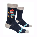 Olympic Long Sleeper Men's Crew Socks