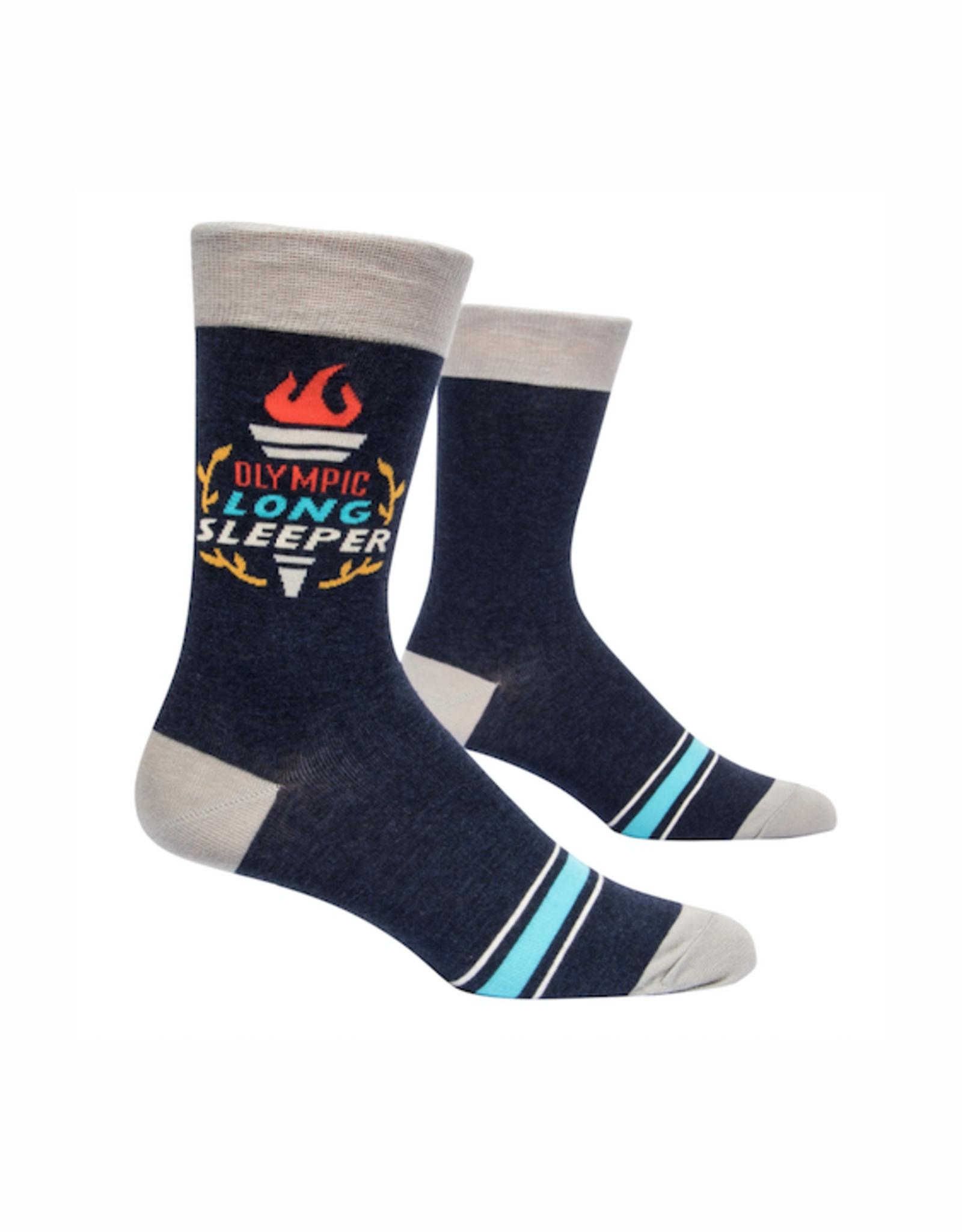 Olympic Long Sleeper Men's Crew Socks