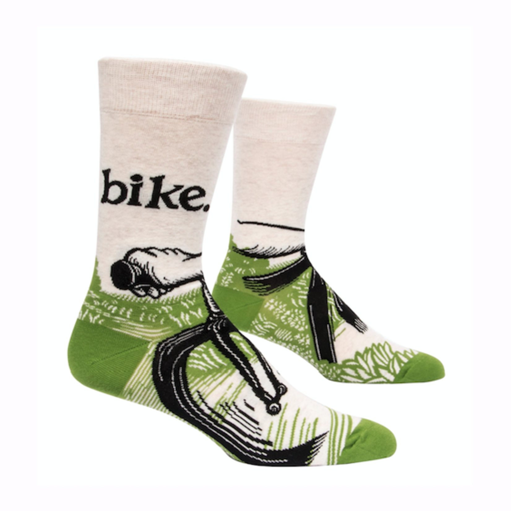 Bike Path Men's Crew Socks