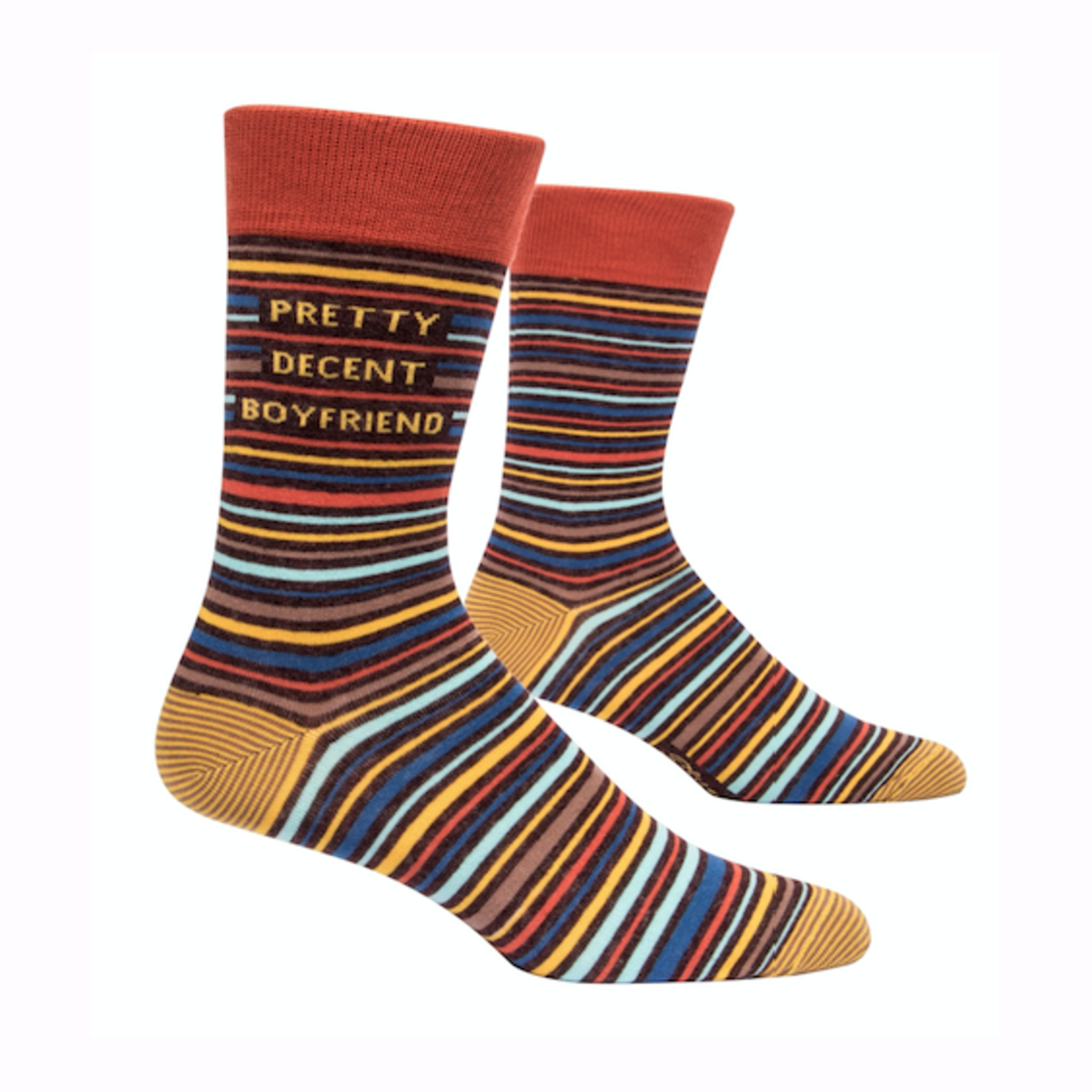 Pretty Decent BF Men's Crew Socks