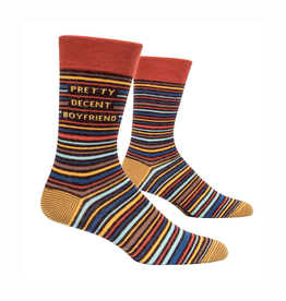 Pretty Decent BF Men's Crew Socks