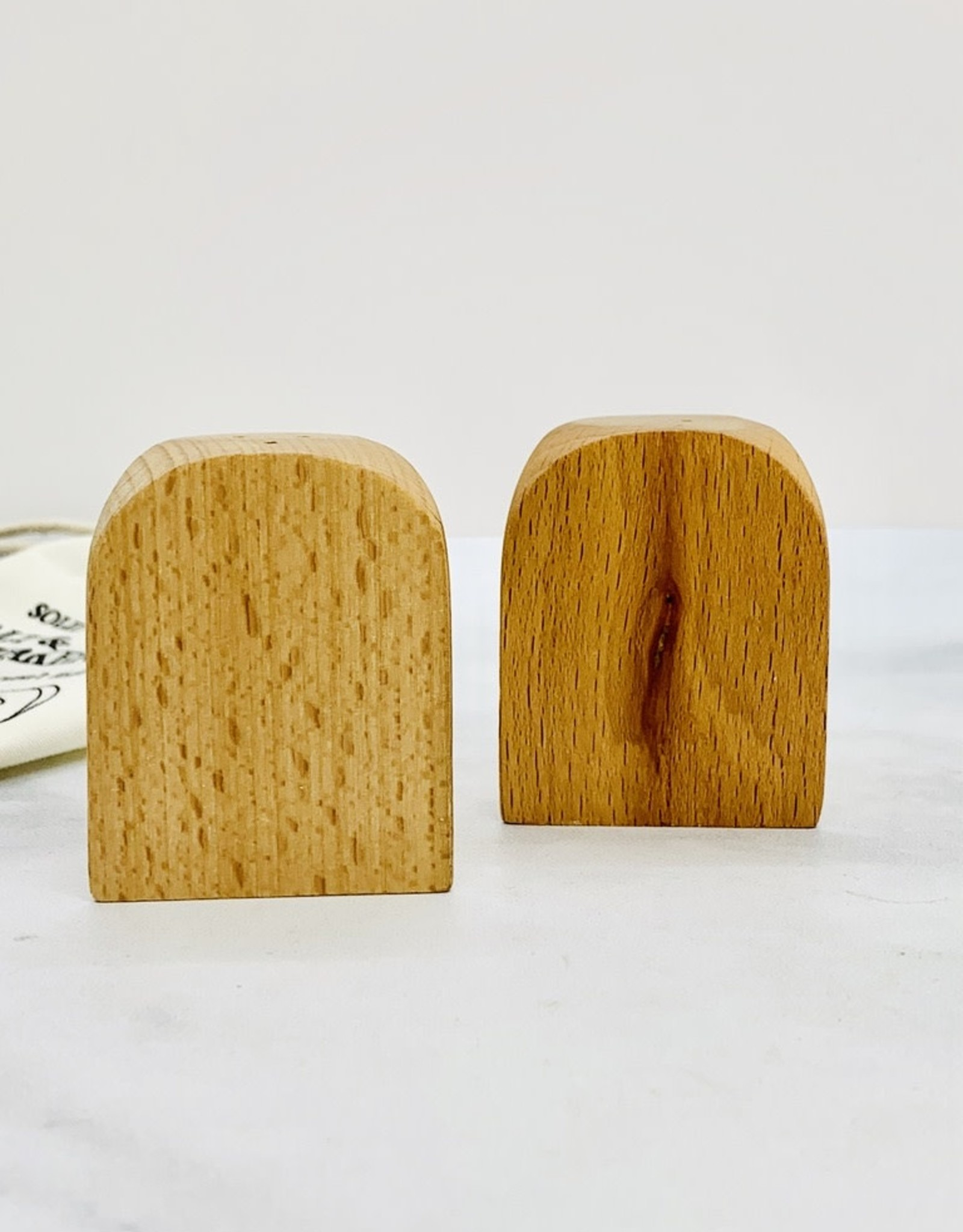 Classic Wood Salt and Pepper Shaker
