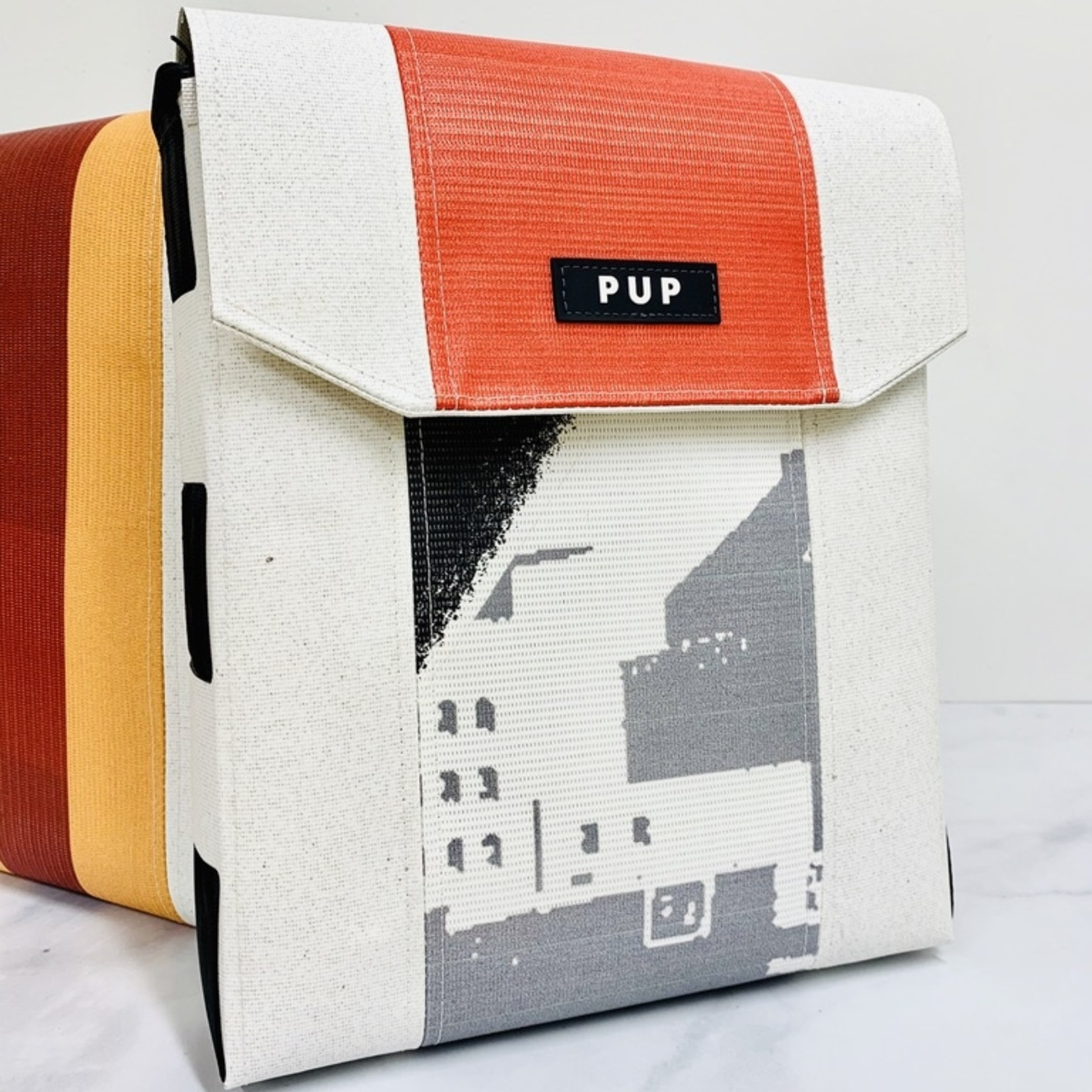 Architect Bag Made From the Roof of the RCA Dome