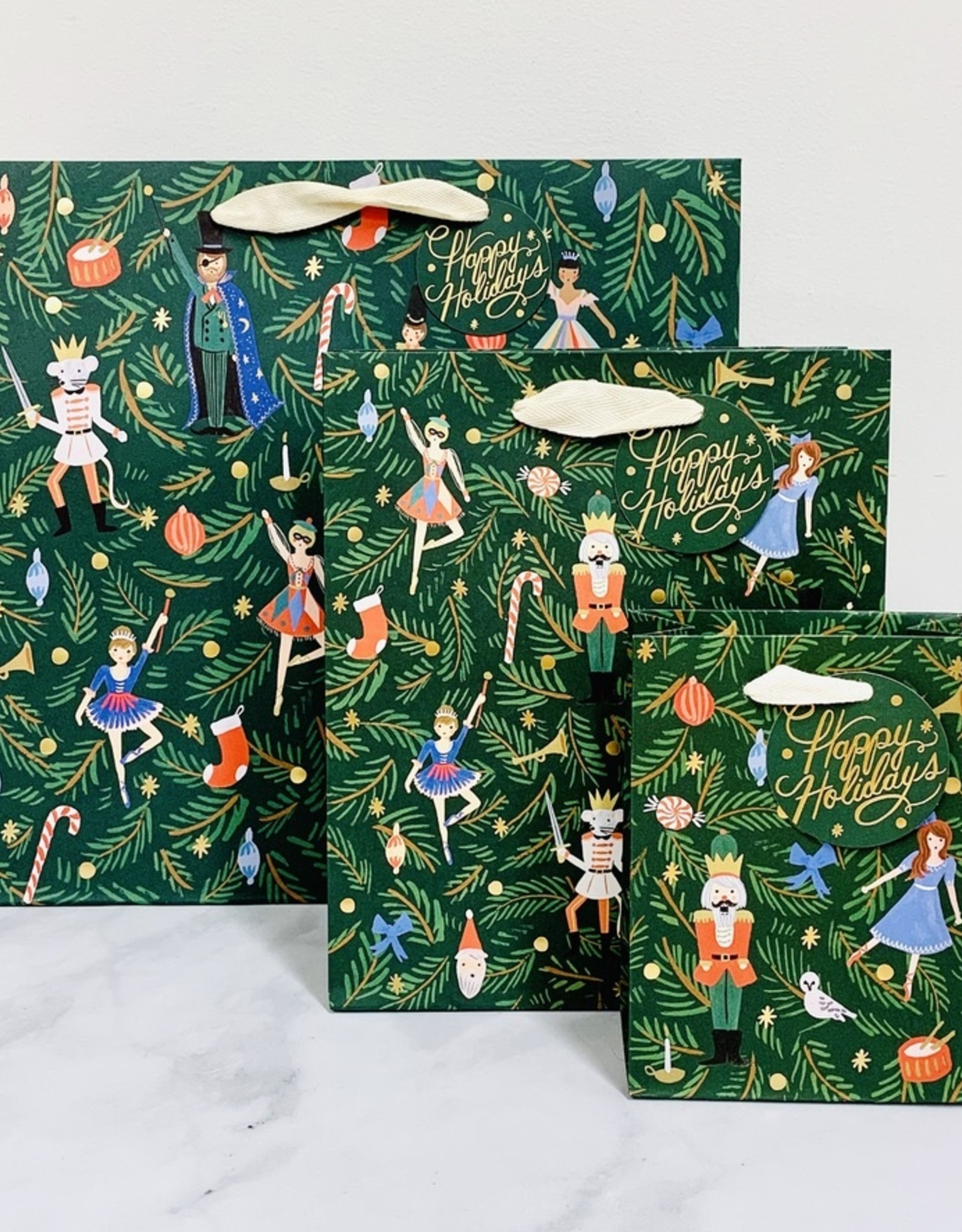 Nutcracker Holiday Gift Bags